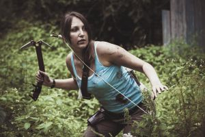 Tomb Raider with Snow Axe by OneMorePike