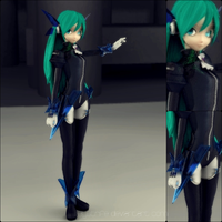 Plug-In Miku Rendering Test by ElyStrife