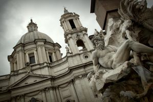 Piazza Navona by black-amber