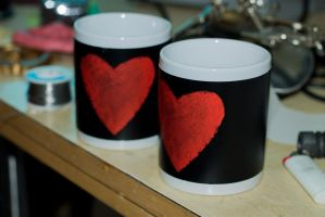 Mugs full of Love by ArmorCorpCustoms