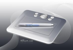 Photorealistic device drawing. by AlexandraF