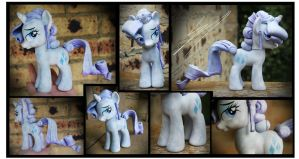 Crystal Pony Rarity Custom by Nazegoreng