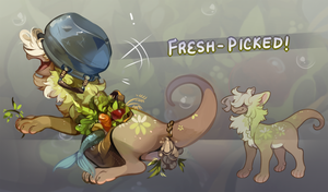 (AUCTION) Fresh-Picked (CLOSED) by kub-e