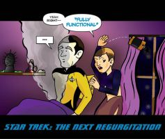 Star Trek: The Next Regurgitation Returns! by Dylanio21