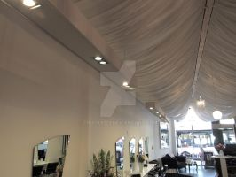 Draped Ceiling and Lighting by Trucky123