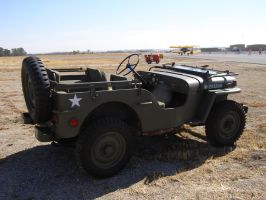 Military Jeep by Jetster1
