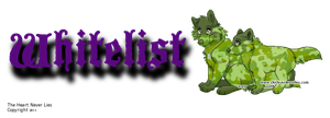 Whitelist Banner by CalicoWoolfe