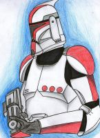Clone trooper captain by Funtimes