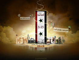 The Syrian Revolution 2011 by nourahalab