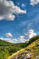 Colorful Hillside by MrMike89