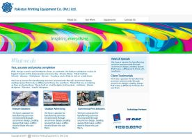 PPECL Website by irfanrahmed