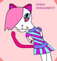 Amber the cat by Amberstar911