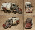 Ministry of Environment Combat Garbage Trukk by Snowfyre