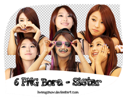 Pack PNG Bora (Sistar) #1 - Happy 150+ watchers by HwangSnow
