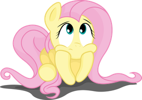 Fluttershy bored by TechRainbow