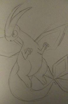 Flygon by Animals4Eva
