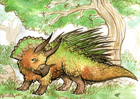 Triceratops by Trinosaur