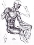 Anatomy Study 2 6-26-2013 by myconius