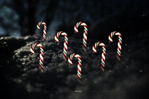 7 Candy Canes by iblushay