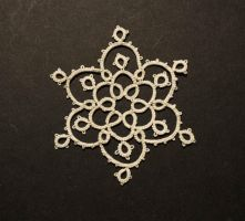 Simple Snowflake by Erzsabet