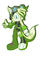 Tundra Sonic Riders style by Jewel-Shapeshifter