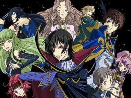Code Geass Awesomeness Poster by AsherothTheDestroyer
