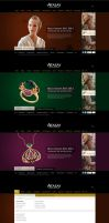 Atasay Jewellery Consept Web Design by accelerator