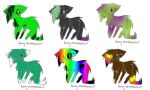 FA. - Furry Kitty Adoptables last 2 Free by alinoravanity