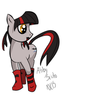 Abby Sciuto, as a pony... by VeoBandit