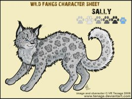 Wild Fangs Sheets_Sally by Tenaga
