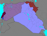 Syria, Iraq and Lebanon conflicts: Every Year by Thumboy21