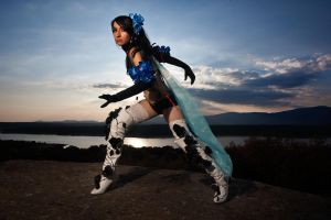 Zafina cosplay Tekken 6 01 by Nebulaluben