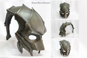 Dragon mask m1(bronce) by atrellus31