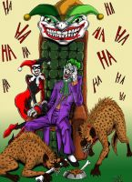 Joker Family Portrait COLORED by EvilHayato