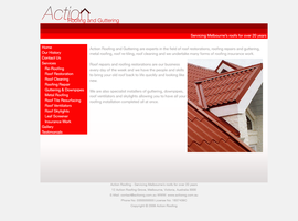 Action Roofing Mock Up by brokenb-x