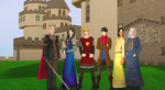 Sims 2 Merlin, Series 1: Residents of Camelot by OnceandFuturePrat