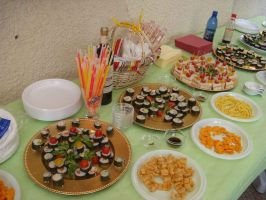"""Sushis, and chips """"Suships"""" by No-SweetToday"""