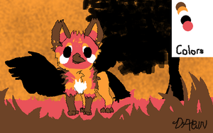 Entry for Griffsnuff's Mini Contest- 5 Colors by Dawnfire2025