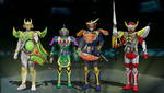 MMD - The Original 4 Armored Riders by Zeltrax987