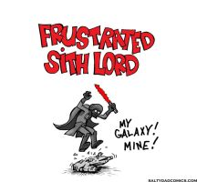 frustrated sith lord by pigmanga