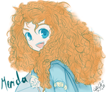 Merida Doodle by LinaHoshi