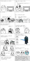 Rage Comic - Story of My Life by RinnKruskov
