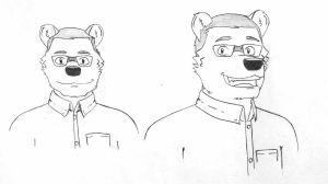 Polar bear bob by wolfiplier
