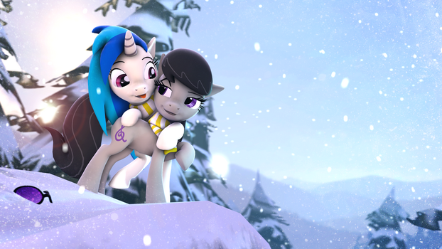 Winter Wubby Pony Waifu (MLP SFM) by TheShabbyCat