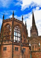 Coventry Cathedral 7 by AlanSmithers
