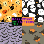 Mini pack: Halloween patterns. by ciaracoloring