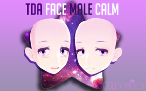 [MMD] TDA FACE MALE CALM EDIT (DL) by DollyMolly323