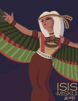 Isis by Miskui