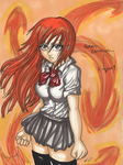 I reject! - Orihime Doodle by StrawberryLoveAlways