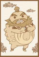 Phantom Hourglass Goron by Bronone